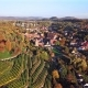 Aerial of Maulbronn Old Town and Vineyards, Germany - VideoHive Item for Sale