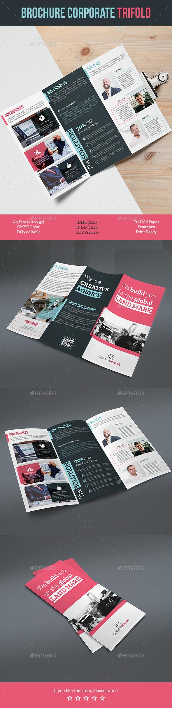 Brochure Corporate Trifold - Corporate Brochures