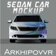 Sedan Car Mockup - GraphicRiver Item for Sale