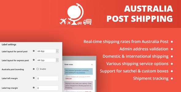 CodeCanyon WooCommerce Australia Post Shipping 20922165