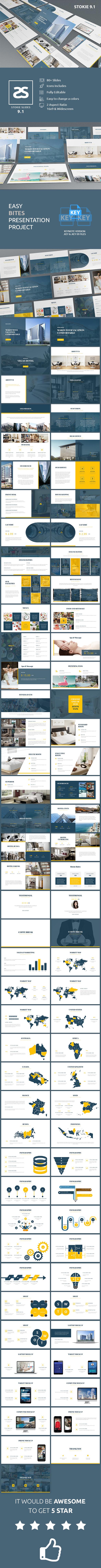 GraphicRiver Hotel Vegas Keynote Template 20922168