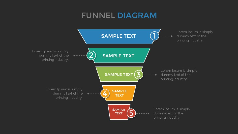 Funnel diagram google slides template by sananik graphicriver funnel diagram google slides template ccuart Images