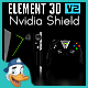 Nvidia Shield for Element 3D - 3DOcean Item for Sale