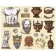 Ancient Greece Antique Symbols