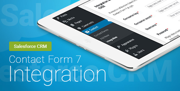 CodeCanyon Contact Form 7 Salesforce CRM Integration 20922509