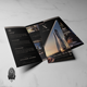 X Towers - Real Estate Trifold Brochure Template