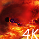Journey Through Abstract Red Space Nebulae - VideoHive Item for Sale