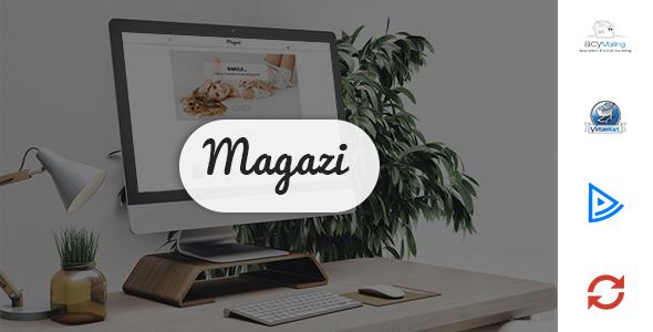 ThemeForest Magazi Multipurpose e-Commerce Joomla Template 20656881
