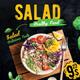 Salad Flavor Flyer Template