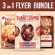 Thanksgiving Flyer Bundle Volume 1
