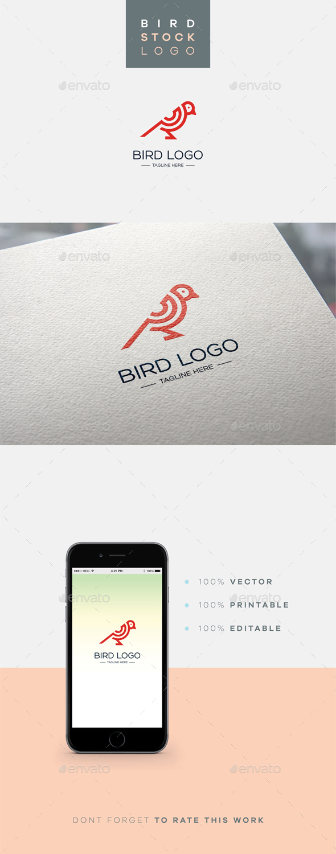 Bird Stock Logo - Animals Logo Templates