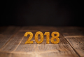 2018 year golden figures - PhotoDune Item for Sale