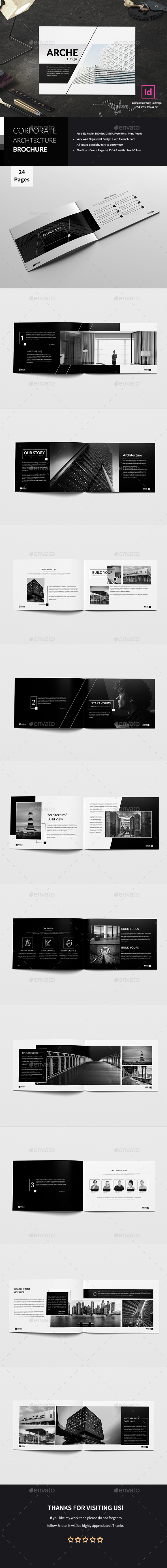 Corporate Architecture Brochure - Corporate Brochures