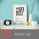 Picture Frame Mockup v3 - GraphicRiver Item for Sale