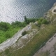 Aerial View on the Dniester Canyon, River and Bakota Bay in National Park Podillya Tovtry - VideoHive Item for Sale