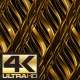 Golden Stroke Pattern 4K - VideoHive Item for Sale