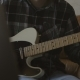 Home Recording Musician Series A Young Guy Improvising on the Guitar - VideoHive Item for Sale