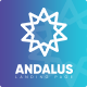 Andalus - App Landing Page - ThemeForest Item for Sale