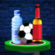 Flip Bottle and Ball Challenge - iOS