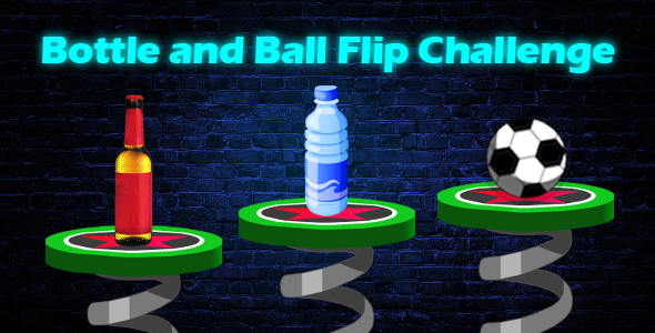 Flip Bottle and Ball Challenge - iOS - CodeCanyon Item for Sale