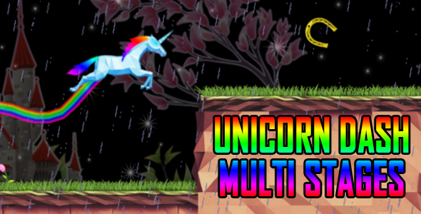 UNICORN DASH MULTI STAGES - iOS - CodeCanyon Item for Sale