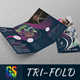 Tri-Fold Brochure Dance Academy - GraphicRiver Item for Sale