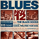 Blues Festival Flyer Template V2 - GraphicRiver Item for Sale
