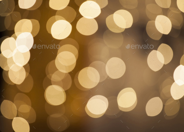 Blurred Christmas lights - Stock Photo - Images