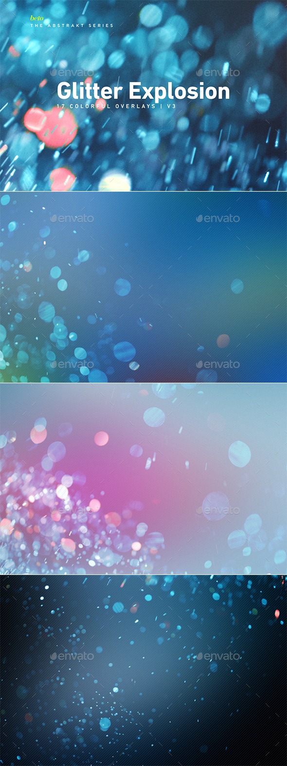 GraphicRiver Colorful Glitter Explosion V3 20925500