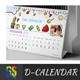 Kids Desk Calendar - GraphicRiver Item for Sale