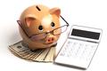 Piggy Bank on Dollars - PhotoDune Item for Sale