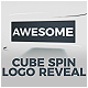 Cube Spin Logo Reveal - VideoHive Item for Sale