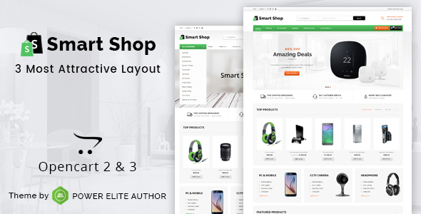 Smart Shop - Multipurpose OpenCart 3 & 2 Theme - Shopping OpenCart