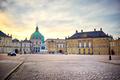 Amalienborg, royal danish family resident