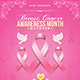 Breast Cancer Awareness Month Flyer