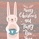 Christmas Animals Card Set - GraphicRiver Item for Sale