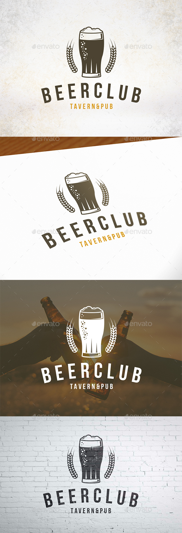 GraphicRiver Beer Club Crest Logo 20926050