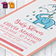 Baby Shower Template - Vol. 19 - GraphicRiver Item for Sale