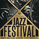 Golden Jazz Flyer Template - GraphicRiver Item for Sale