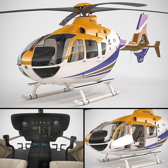 3DOcean Eurocopter EC135 20926434