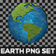 Earth PNG Set