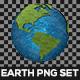Earth PNG Set