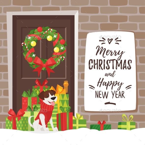 Christmas New Year Greeting Card - Seasons/Holidays Conceptual