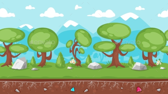 GraphicRiver Background for Games and Animation 20926708