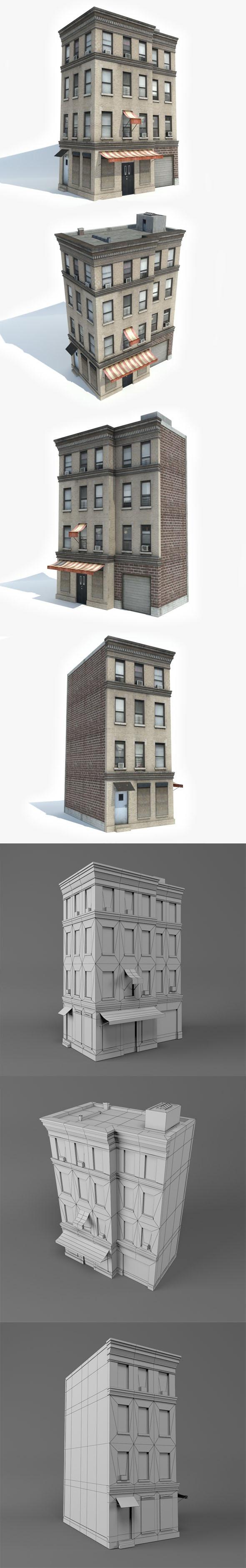 3DOcean Apartment Building 13 20926769