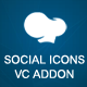 Social Icons Visual Composer Addon - CodeCanyon Item for Sale