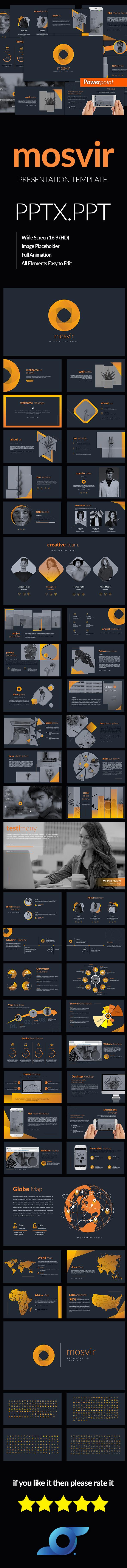 Mosvir Business Template - Business PowerPoint Templates