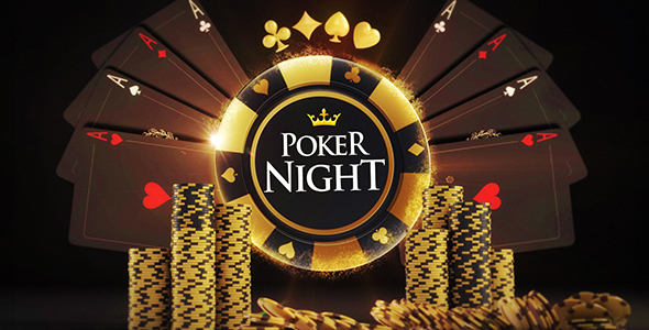Poker Night Logo Reveals by BILDER | VideoHive