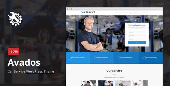 Avados – Car Service WordPress Theme            nulled