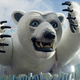 The carnival of Viareggio, the white bear - PhotoDune Item for Sale